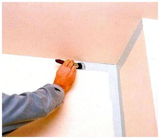 Крашу стены в разные цвета как сделать переходы в углах