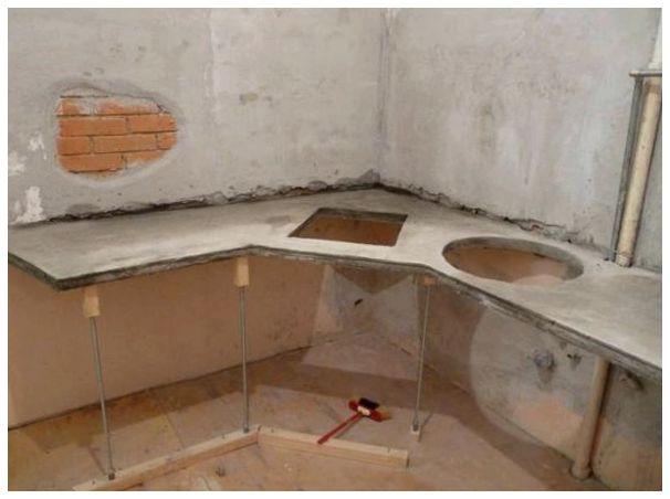 Столешница из гипса Кухонные столешницы искуственный камень Хотьково
