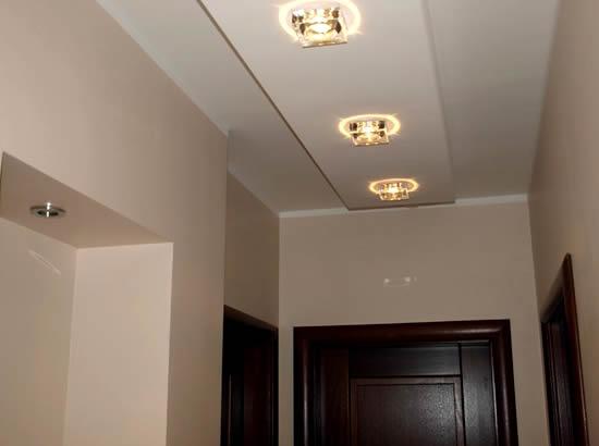 Потолок прихожей из гипсокартона своими руками