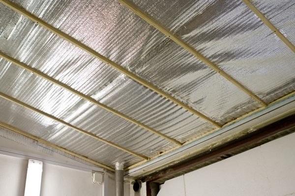 Потолок в гараж фото