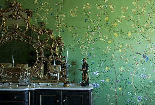 обои фото для стен зеленые