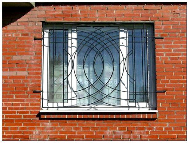 Фото решеток на окна своими руками 532