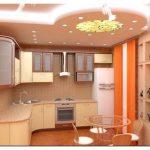 Чем и как отделать потолок на кухне? применяем гипсокартон