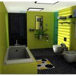 Черные полы в ванной: как сделать шикарный дизайн и не «съесть» пространство