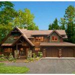 Деревянный загородный дом — единение с природой