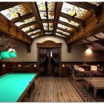 Дизайн бильярдной комнаты: роскошь и комфорт