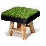 Дыхание весны: мебель с газоном