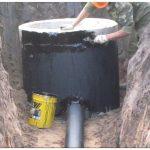 Гидроизоляция колодцев в мокрых грунтах – как ее делать?