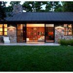 Гостевой дом из камня площадью 50 кв. метров