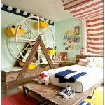 Интерьер детской комнаты в цирковом стиле