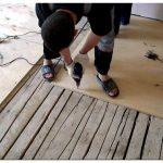 Как выровнять деревянный пол фанерой
