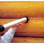 Какие герметики применять для работы с деревянными конструкциями?