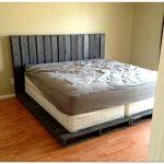 Кровать своими руками: основание под матрас из поддонов
