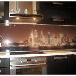 Кухонные фартуки из плитки, фото