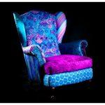 Лоскутное шитье: красочные диваны и кресла