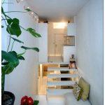 Маленькая двухуровневая квартира площадью 20 кв.м.