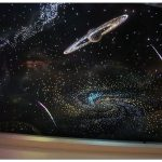 Натяжной потолок звездное небо: вселенная в интерьере