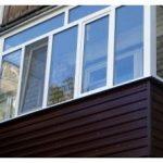 Остекление балкона пластиковыми окнами — особенности