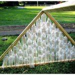 Парник или теплица из пластиковых бутылок