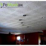 Предмонтажная подготовка для клеевого потолка