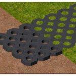Применение газонных решеток для укрепления грунта