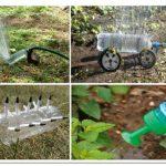 Простой и эффективный капельный полив из пластиковых бутылок