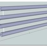 Регистры отопления из гладких труб – нюансы их использования