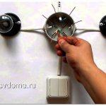 Схема подключения выключателя: одноклавишного, двухклавишного и проходного