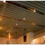 Советы по установке реечного потолка