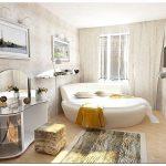 Спальня в стиле модерн: строгий романтизм