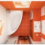 Удачные варианты отделки ванной комнаты плиткой