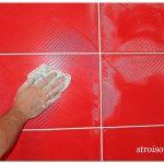 Затирка швов керамической плитки: технология и особенности работ