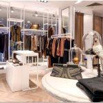 Потрясающий бутик molton в renoma comertial center — стильная игра цветов и фактур от дизайнеров 2kul, вроцлав, польша