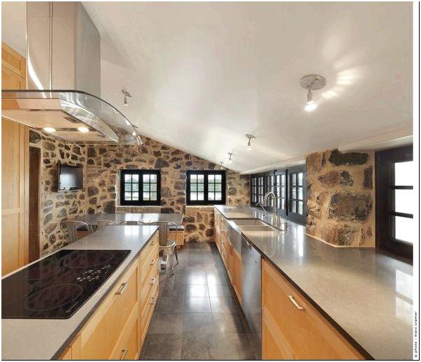 Дизайн интерьера Bord-du-Lac House