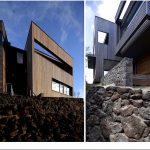 Необычная планировка загородного двухэтажного дома