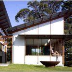 Оригинальный дизайн-проект гостевого дома в стиле летнего лагеря