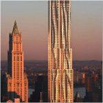 Роскошная жилая башня gehry residential – шикарный проект компании gehry partners, llp, нью-йорк, сша