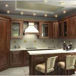 Как в дизайне кухни выделить пространство для столовой?