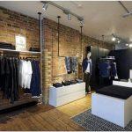Лаконичный интерьер pop-up магазина line 8 для джинсового бренда levi#8217;s в лондоне