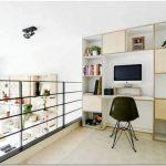 Превращение школы в жилище для молодой семьи или интерьер двухуровневой квартиры