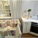 Кухонная зона недели: веранда в очаровательных розах