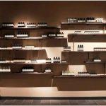 Необычный дизайн брендового магазина лечебной косметики aesop
