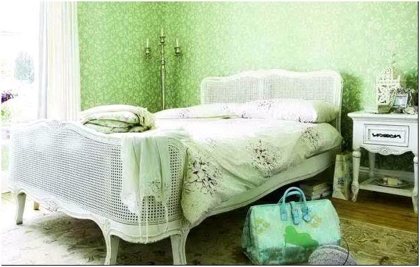 Фото 14 - Спальня в цвете
