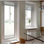 Оформление выхода на балкон – оригинальные решения оконно-дверного блока