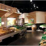 Потрясающий дизайн-проект продуктового магазина ferme en ville store в сельском стиле