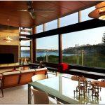 Роскошный и современный freshwater house с прекрасным видом от brewster hjorth architects, сидней, австралия