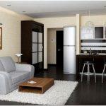 Дизайн однокомнатной квартиры с нишей. что можно в ней разместить?