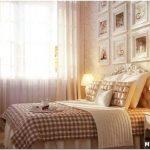 Простота и уют дизайна маленькой спальни в стиле прованс