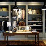 Завораживающий дизайн брендового бутика классической одежды todd snyder