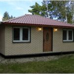Готовые дачные дома. разновидности конструкций, варианты кухонь
